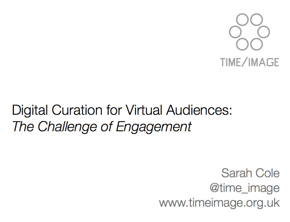 Bits 2 Blogs 2013: The Challenge of Engagement
