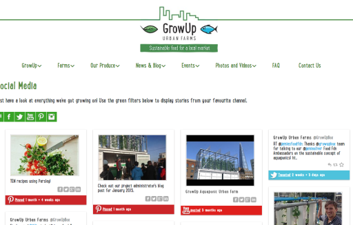 GrowUp Website
