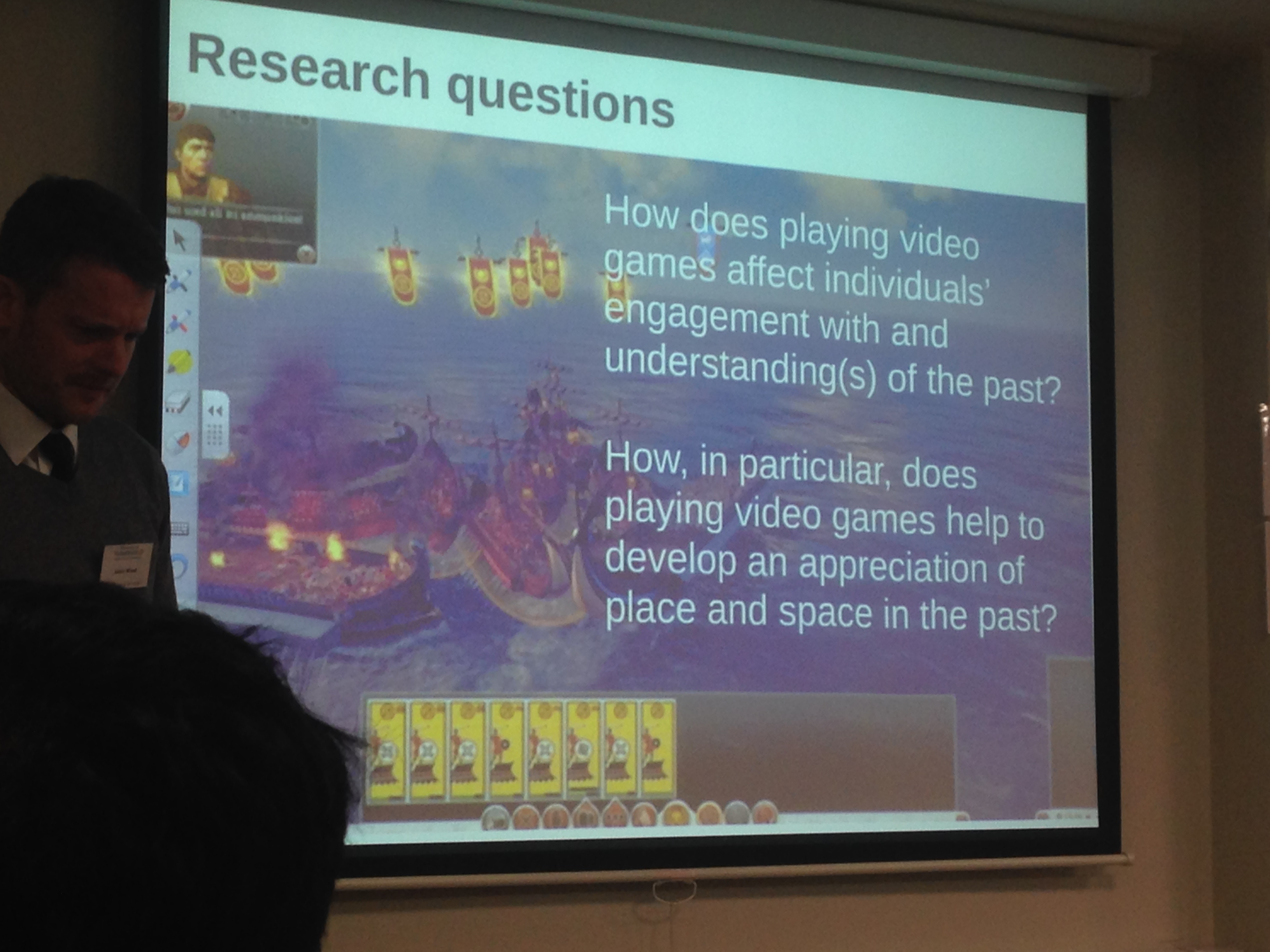 Playing with History: A workshop on gaming and history (#gamingandhistory)